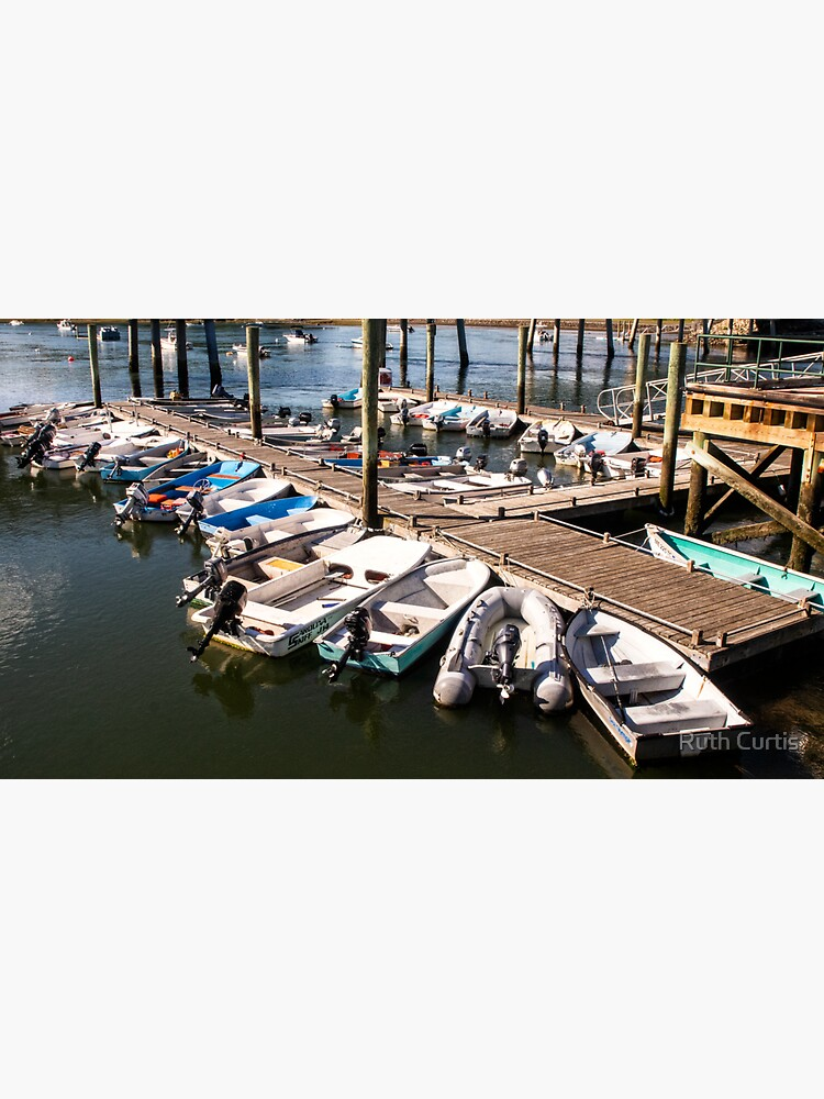 Small Boats at Dock by Ruthie33