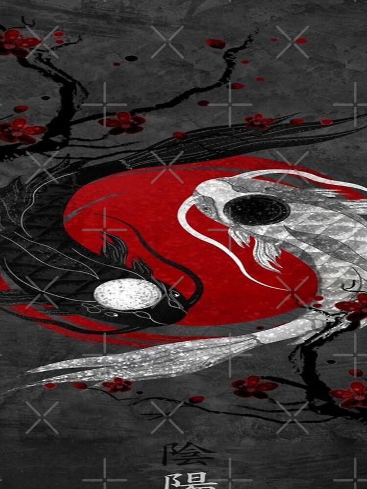 yin yang  fish  by Shiroiiii
