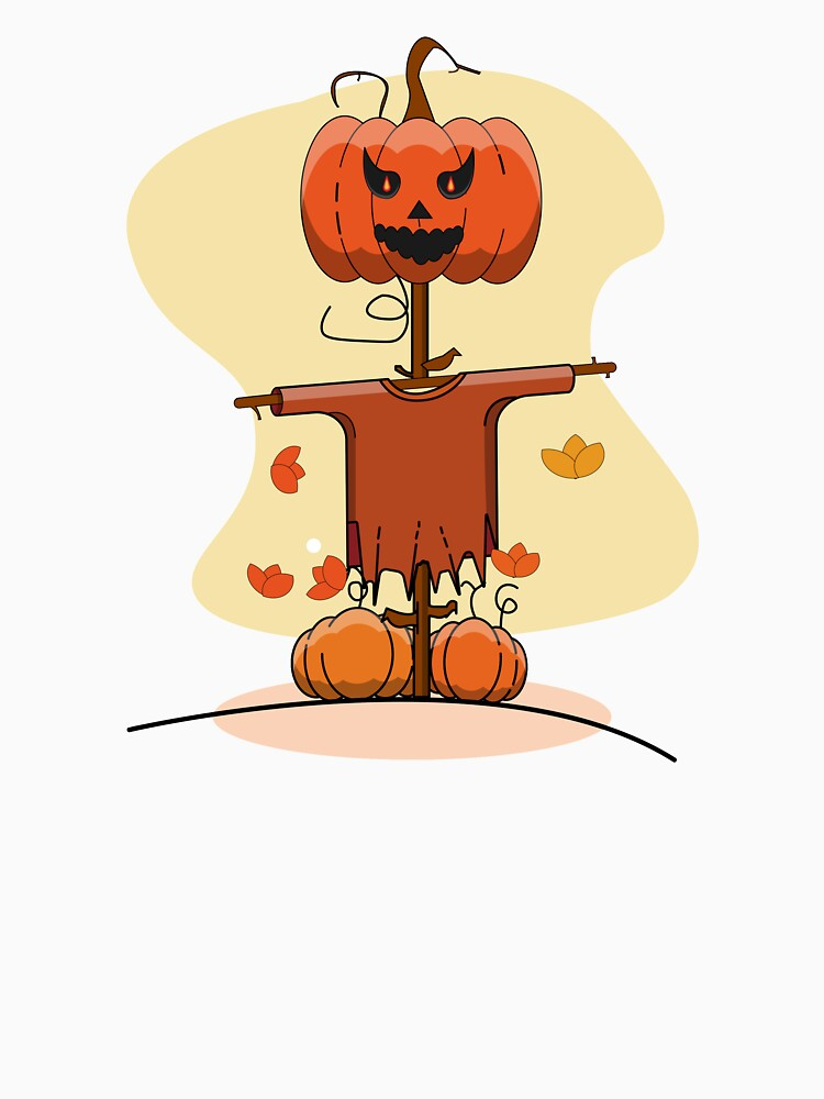 Halloween Scarecrow Funny for Women  by hentazed