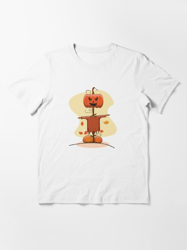 Alternate view of Halloween Scarecrow Funny for Women  Essential T-Shirt
