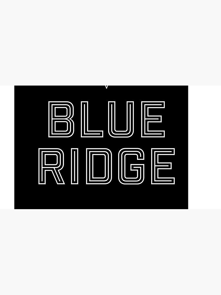 T shirt design, Blue Ridge by DinoCook