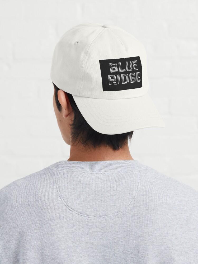 Alternate view of T shirt design, Blue Ridge Cap