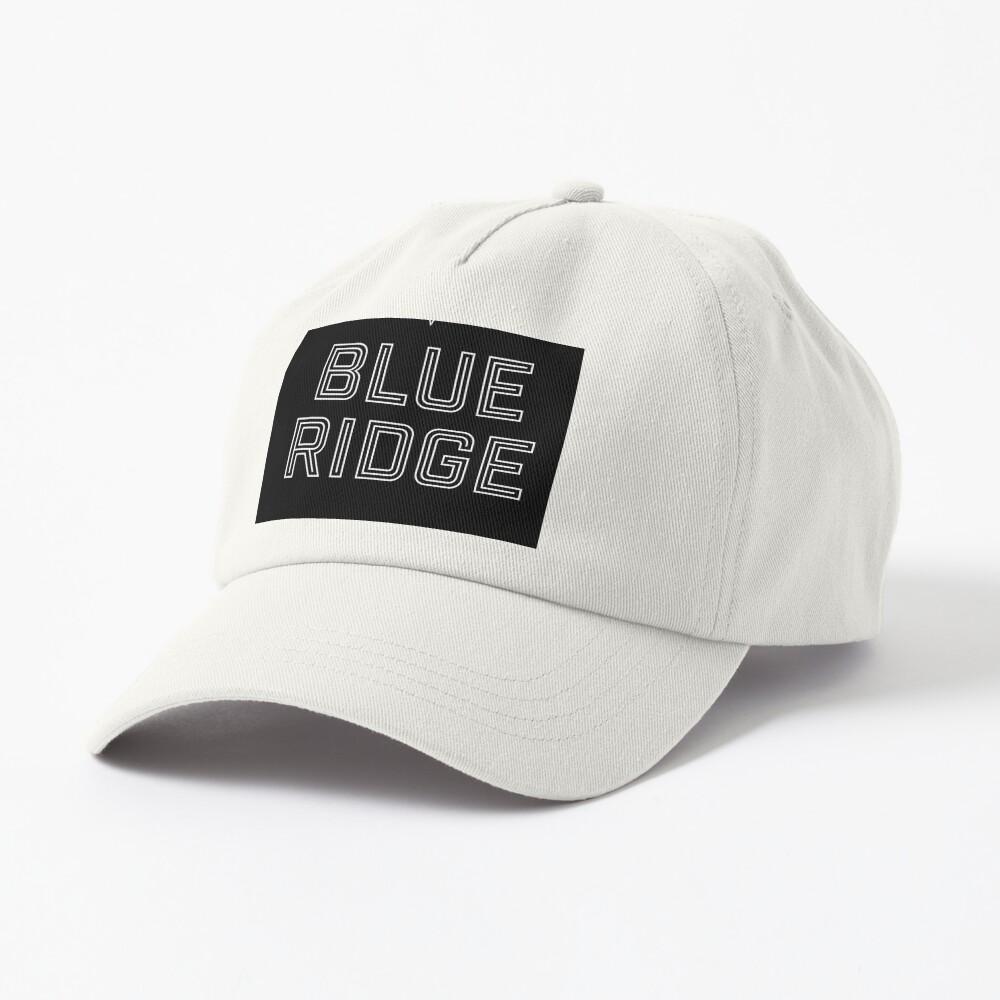 T shirt design, Blue Ridge Cap