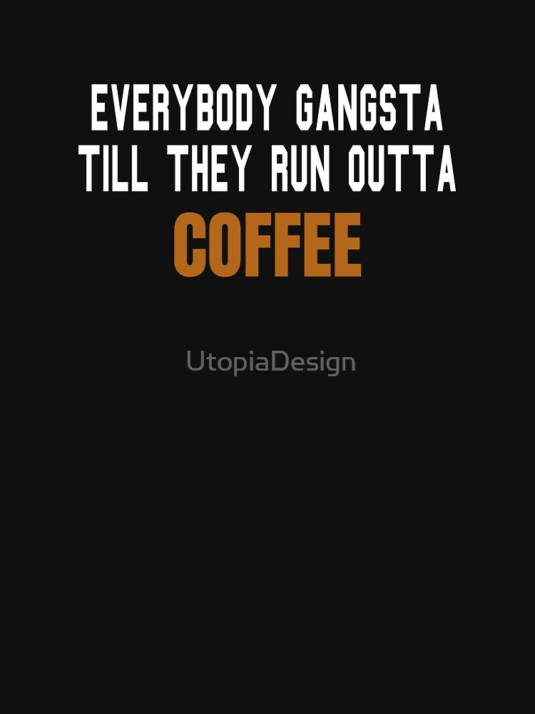 Coffee gangster by UtopiaDesign