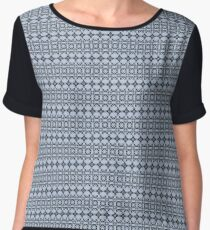 Symmetrical Geometric Pattern 4 Women's Chiffon Top