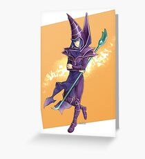 Yu-Gi-Oh! Mahado the Dark Magician Greeting Card