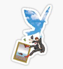 Magritte Sticker