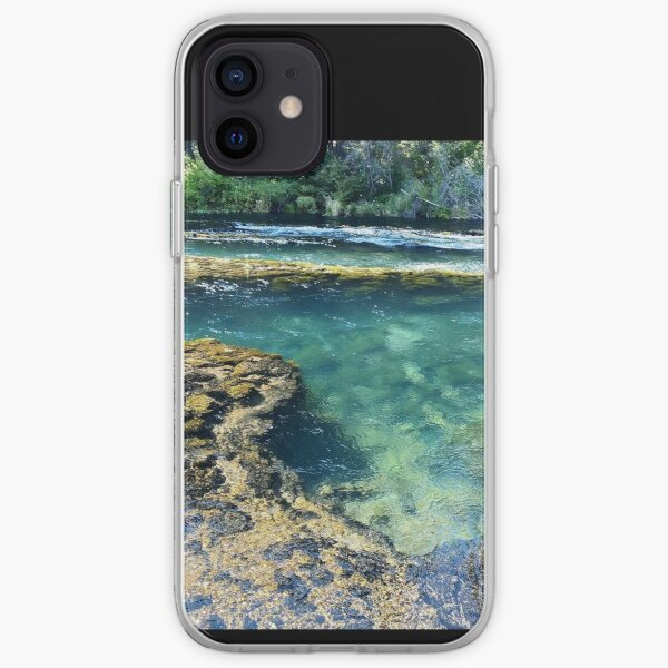 River pool iPhone Soft Case