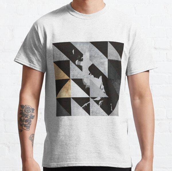 U2 sonajero y zumbido - Triángulos Camiseta clásica