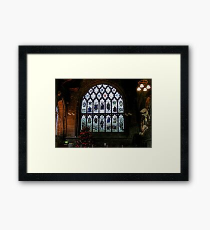 Chester Cathedral Refectory  Framed Print