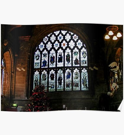 Chester Cathedral Refectory  Poster