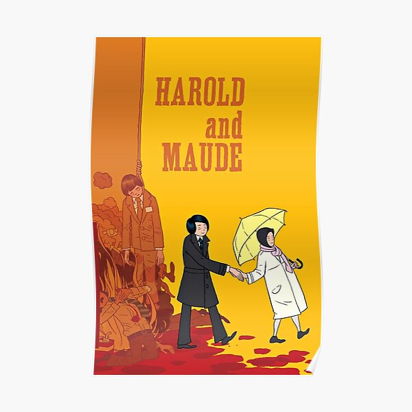 Harold and Maude vintage Poster
