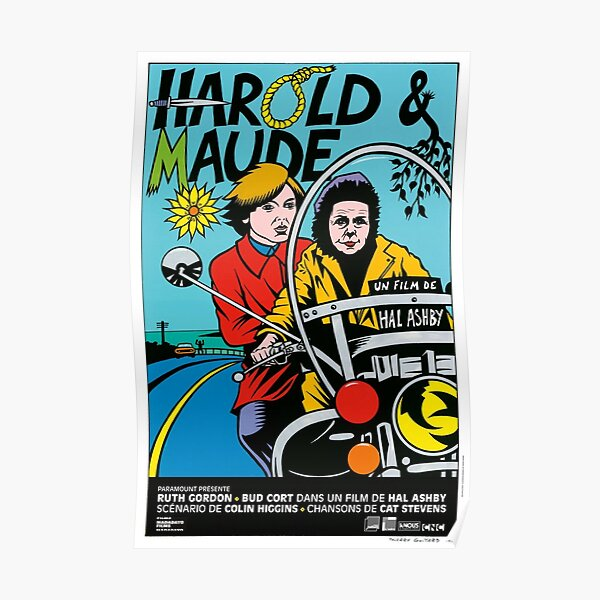 Harold and Maude classic Poster