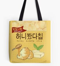 MYSTIC MESSENGER HONEY BUDDHA CHIP Tote Bag