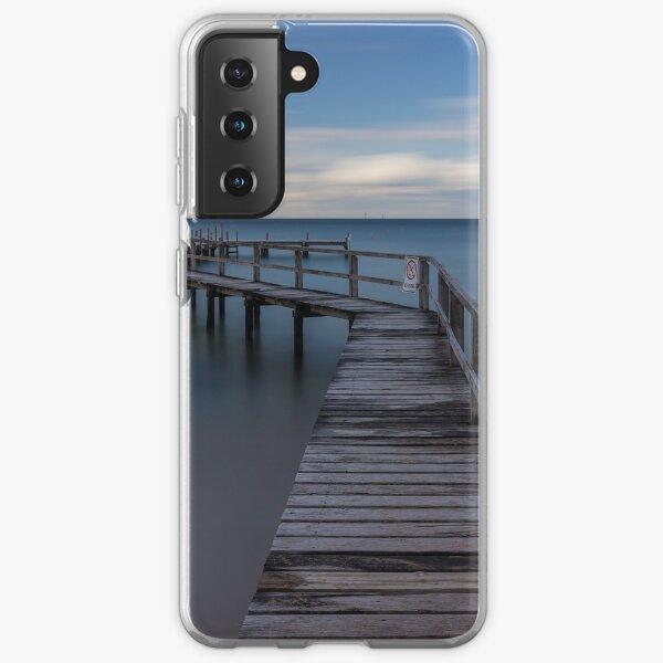 Shelley Beach Pier, Portsea Samsung Galaxy Soft Case
