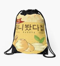 MYSTIC MESSENGER HONEY BUDDHA CHIP Drawstring Bag