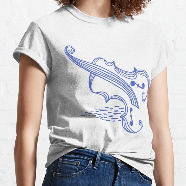 Scandi Cello or Violin or Viola...whatever you want it to be Classic T-Shirt