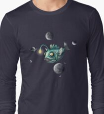 Angler Fish with Planets T-Shirt