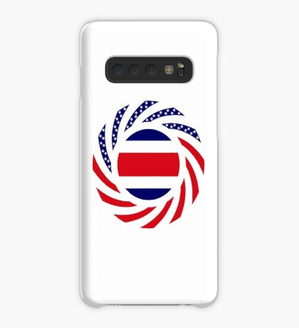 Costa Rican American Multinational Patriot Flag Series Case/Skin for Samsung Galaxy