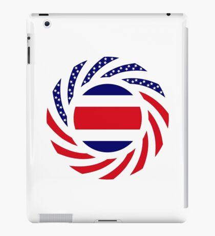 Costa Rican American Multinational Patriot Flag Series iPad Case/Skin