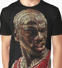 The GOAT Michael Jordan Graphic T-Shirt