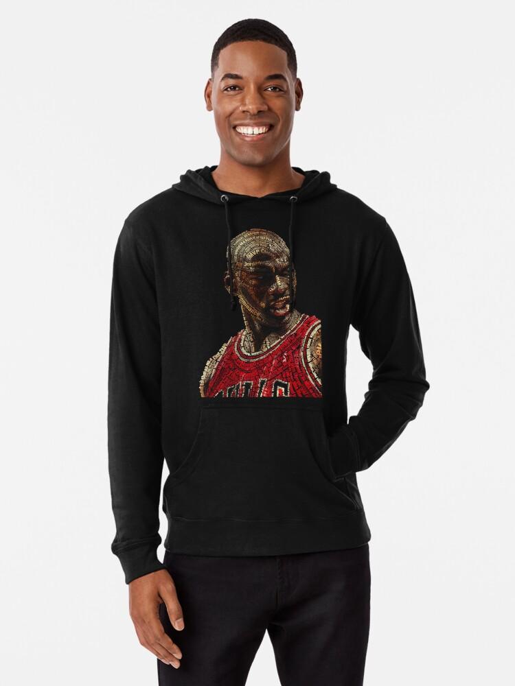 'The GOAT Michael Jordan' Lightweight Hoodie by The Real Jonny D