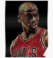 The GOAT Michael Jordan Poster