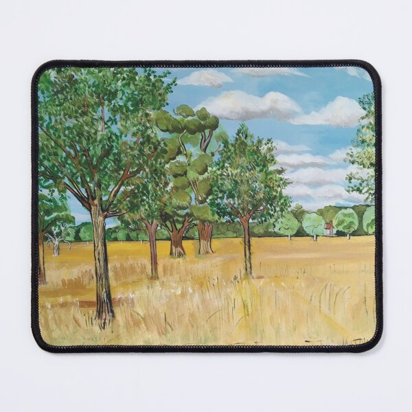 Gaze Awhile Upon The Fields Of Gold Mouse Pad