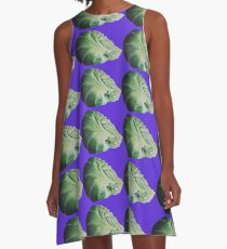 Christmas Sprout A-Line Dress