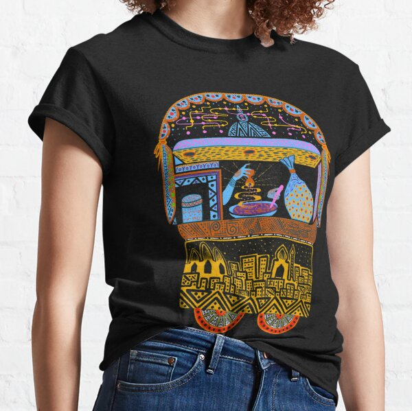Indian Street Food Cultural Munchies for Traveler Nomads & Foodies Classic T-Shirt