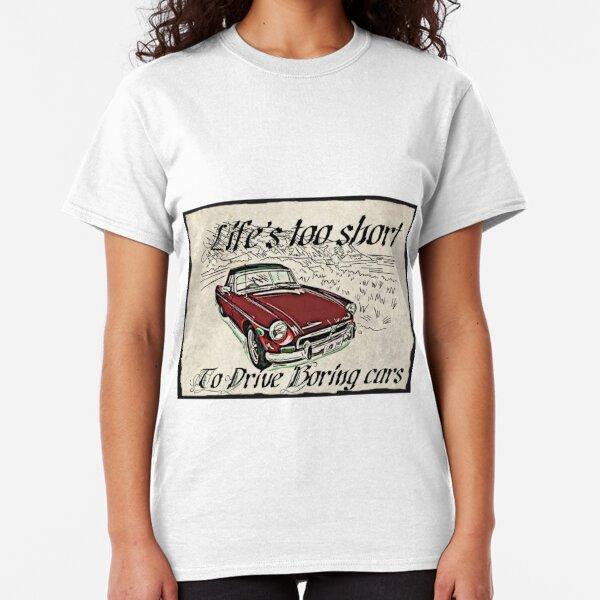 PERSONALISE IT! MGC ROADSTER CAR ART T-SHIRT