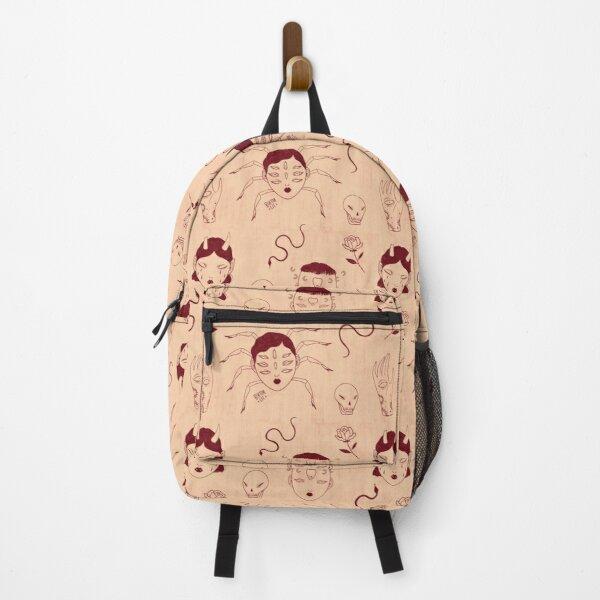 Witch Pattern Backpack