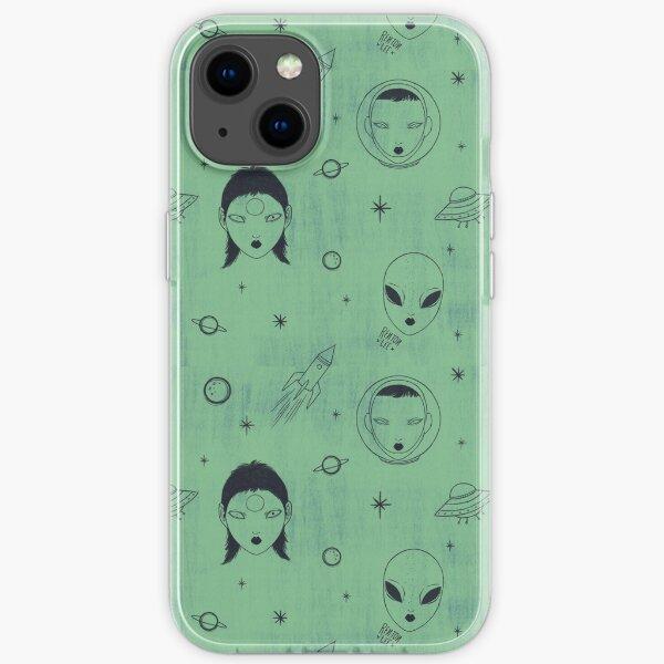 Alien Pattern iPhone Soft Case