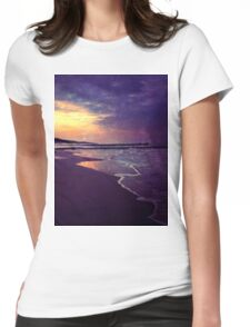 Walking on the dream Womens Fitted T-Shirt