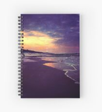 Walking on the dream Spiral Notebook