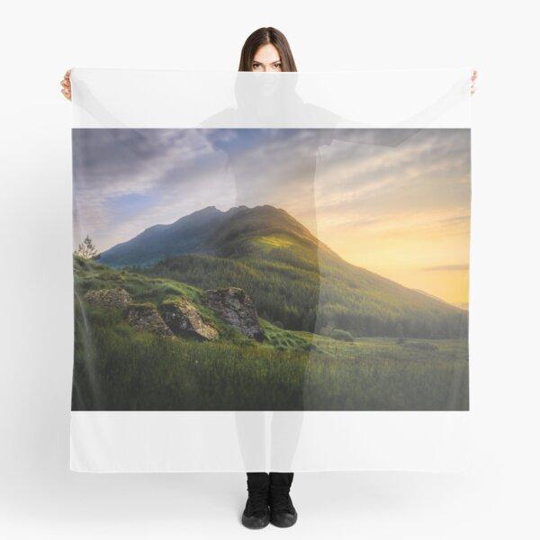 Mountain Sunset Scarf