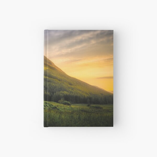 Mountain Sunset Hardcover Journal