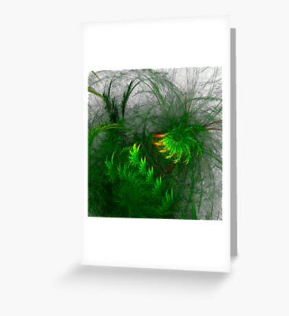 Jungle #fractal art Greeting Card
