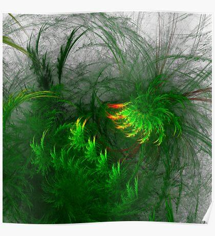 Jungle #fractal art Poster