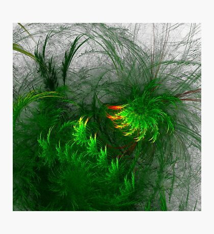 Jungle #fractal art Photographic Print