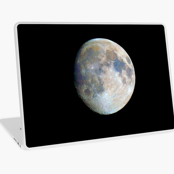 moon in colour Laptop Skin