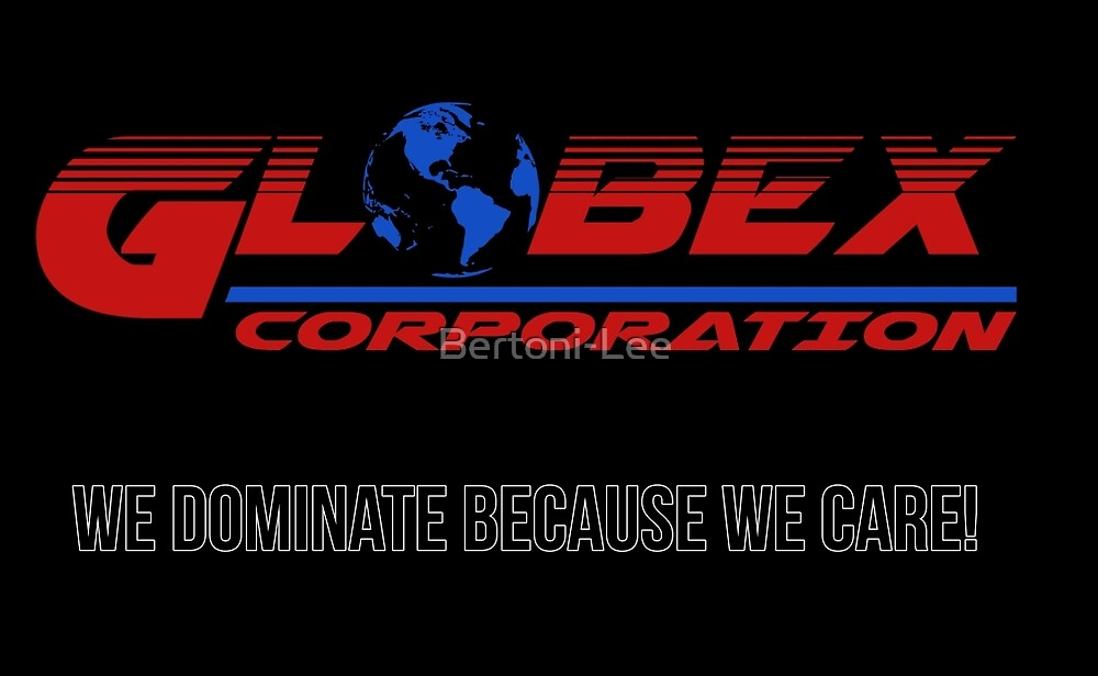 Globex corporation official atire by Bertoni-Lee