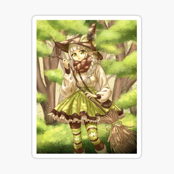 Elf Witch Sticker