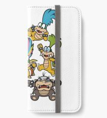 Koopalings - Paper Mario: Color Splash iPhone Wallet/Case/Skin