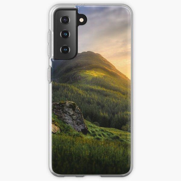 Mountain Sunset Samsung Galaxy Soft Case