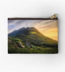 Mountain Sunset Zipper Pouch
