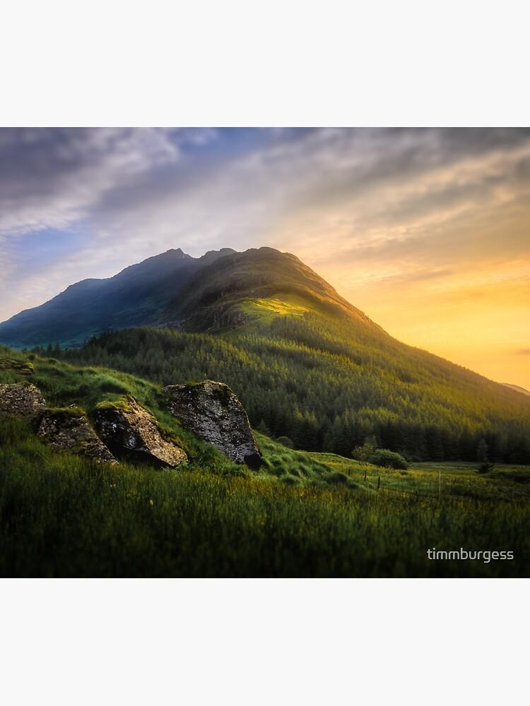 Mountain Sunset by timmburgess