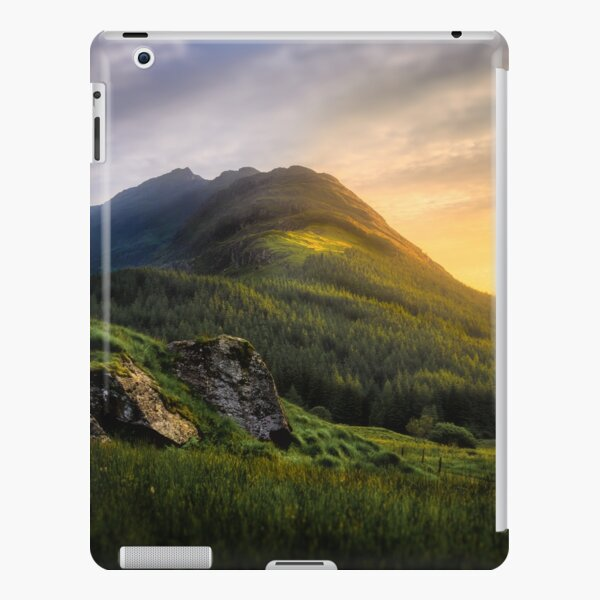 Mountain Sunset iPad Snap Case