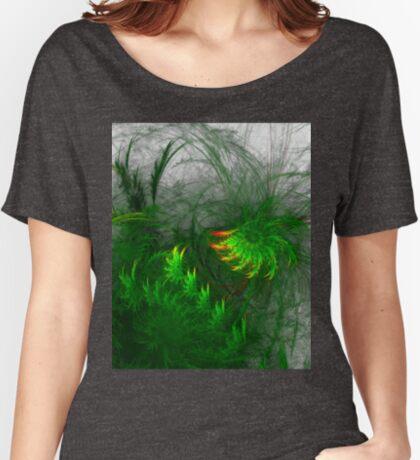 Jungle #fractal art Relaxed Fit T-Shirt