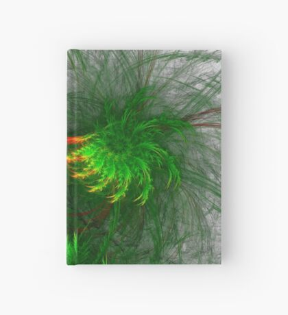 Jungle #fractal art Hardcover Journal